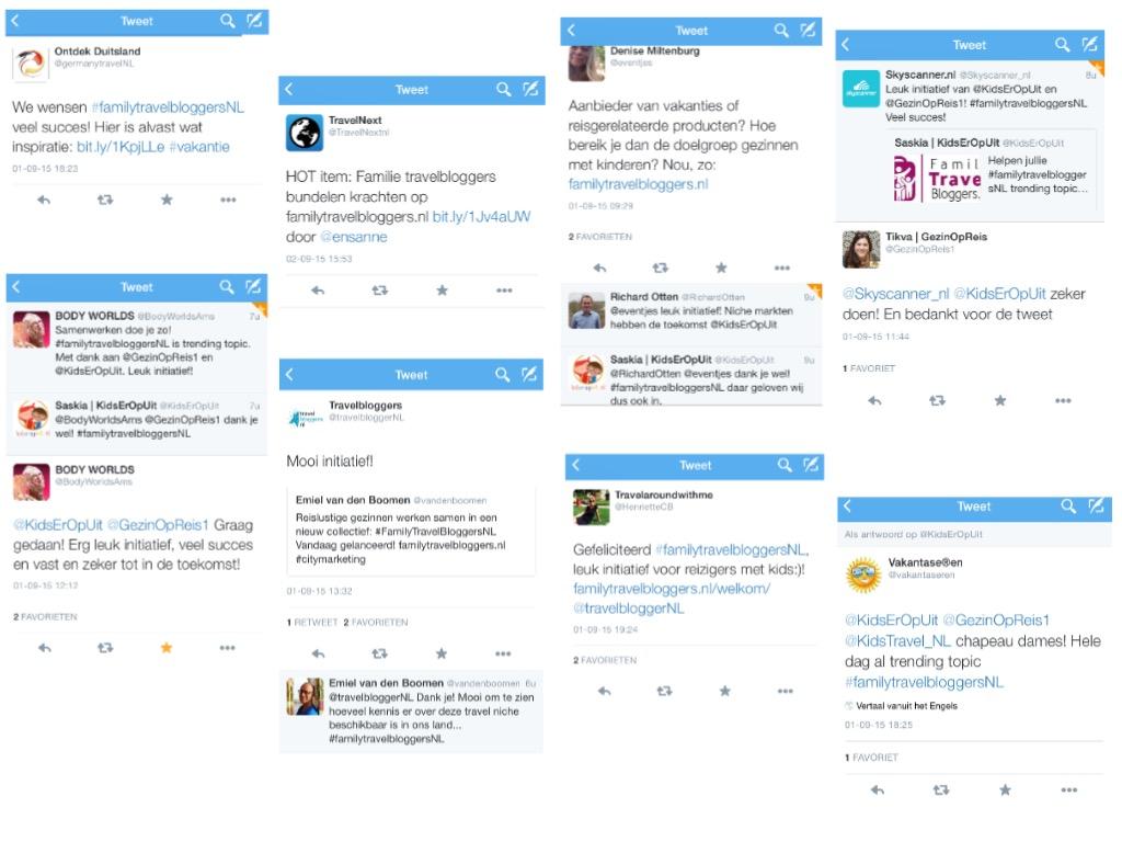 Een kleine selectie van de leuke reacties op Twitter!
